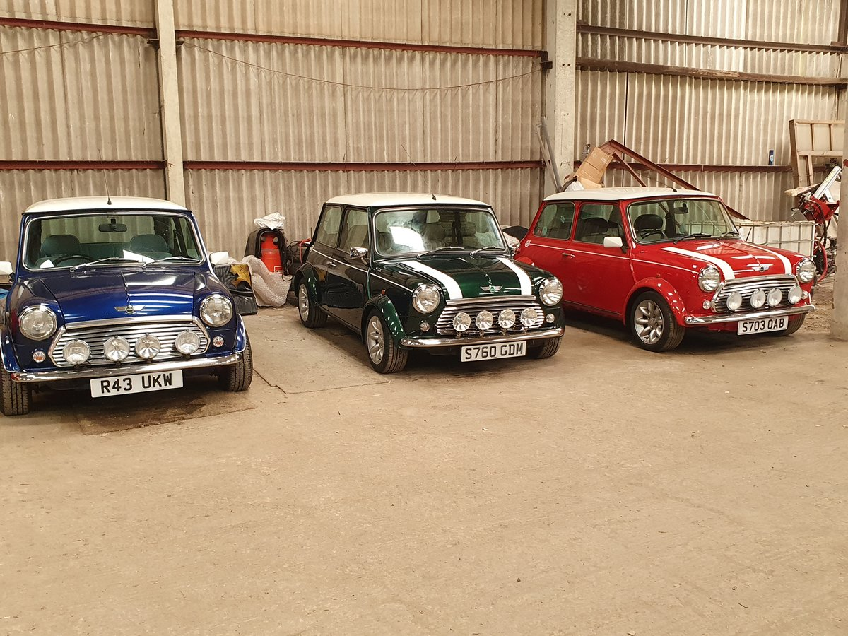 1998 Mini Cooper Sportspack - Selection of 3 For Sale (picture 1 of 4)