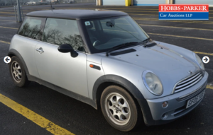 2005 Mini Cooper 66,947 Miles for auction 25th