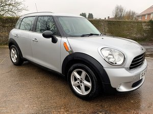 Picture of 2012/62 MINI Countryman One 1.6D - long MOT SOLD
