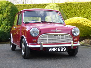 Picture of 1960 Lovely Morris Mini Minor Deluxe With Fantastic History SOLD