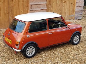 Rare Volcano Orange Mini Cooper On 10600 Miles From New
