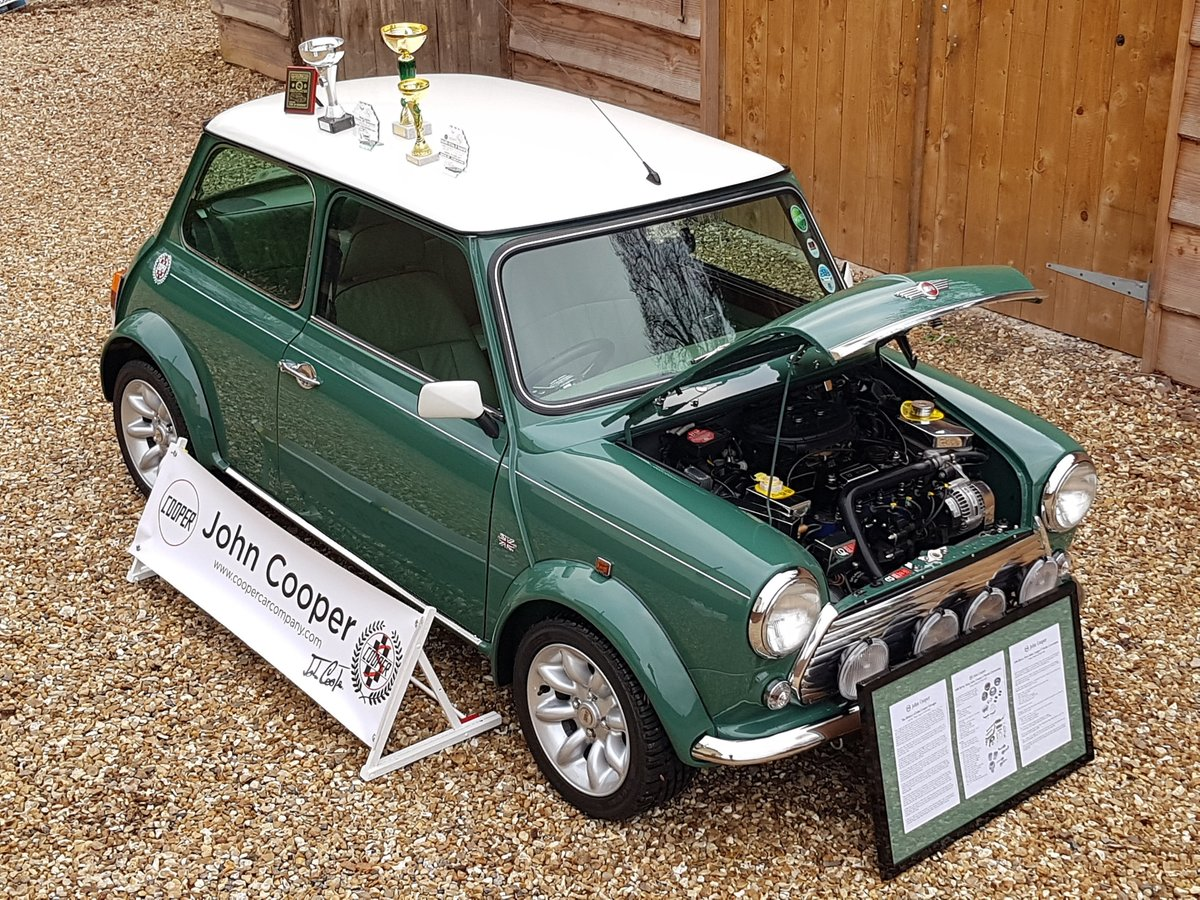 1997 Outstanding Mini John Cooper S Works On Just 19820 Miles. SOLD (picture 1 of 25)
