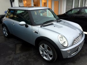 MINI COOPER RC53 MANUAL 3 DOOR HATCHBACK