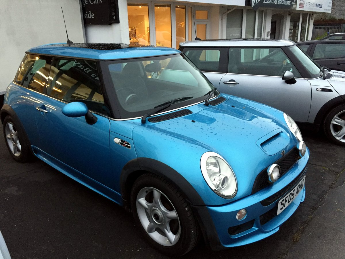 2005 MINI COOPER S RE32 SUPERCHARGED AUTOMATIC 3 DOOR HATCHBACK For Sale (picture 1 of 11)
