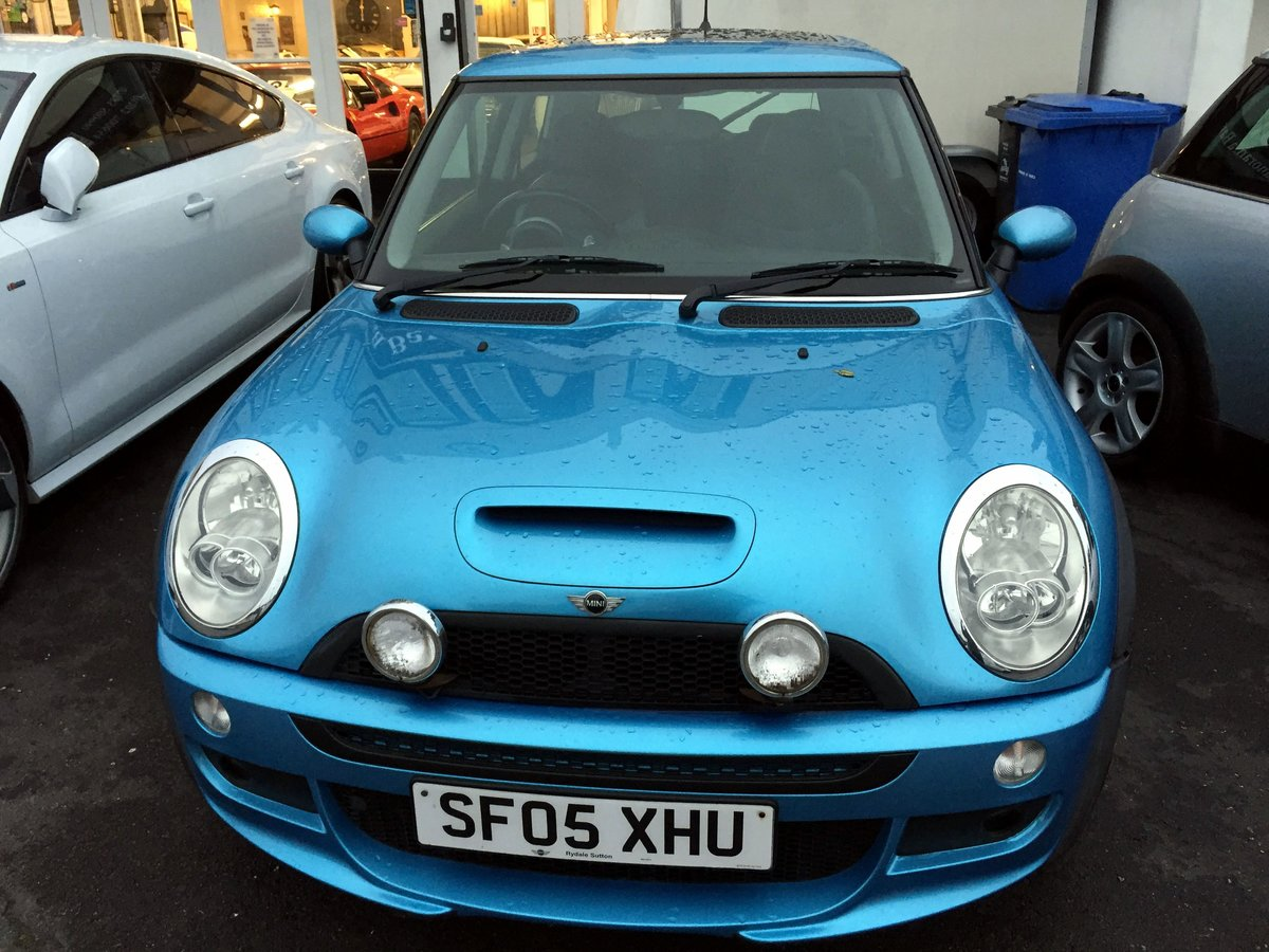 2005 MINI COOPER S RE32 SUPERCHARGED AUTOMATIC 3 DOOR HATCHBACK For Sale (picture 3 of 11)