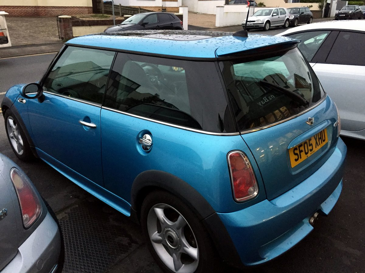 2005 MINI COOPER S RE32 SUPERCHARGED AUTOMATIC 3 DOOR HATCHBACK For Sale (picture 5 of 11)