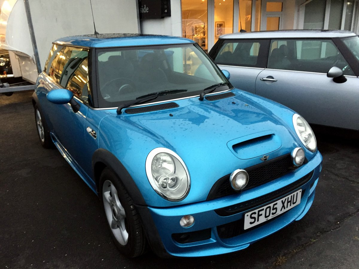 2005 MINI COOPER S RE32 SUPERCHARGED AUTOMATIC 3 DOOR HATCHBACK For Sale (picture 7 of 11)