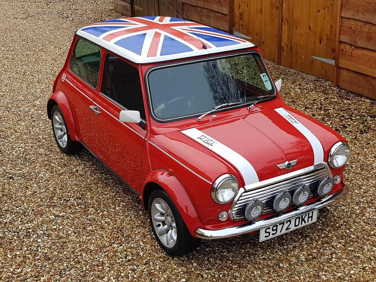 1998 Stunning Mini Cooper Sport On Just 21730 Miles From New For Sale (picture 1 of 22)