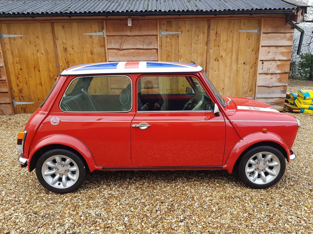 1998 Stunning Mini Cooper Sport On Just 21730 Miles From New For Sale (picture 3 of 22)