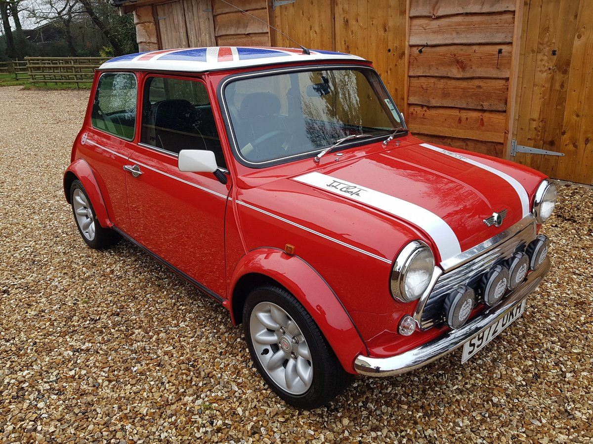 1998 Stunning Mini Cooper Sport On Just 21730 Miles From New For Sale (picture 4 of 22)