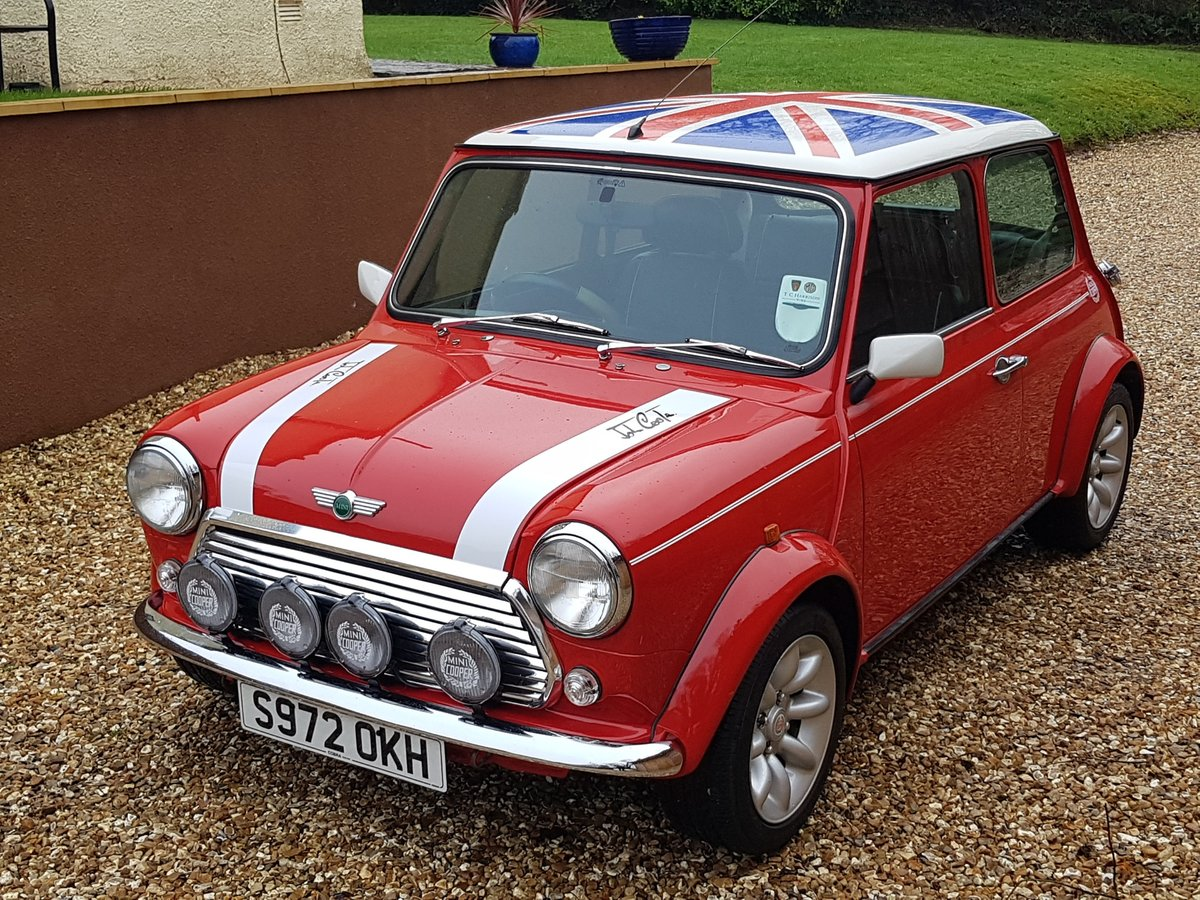 1998 Stunning Mini Cooper Sport On Just 21730 Miles From New For Sale (picture 5 of 22)