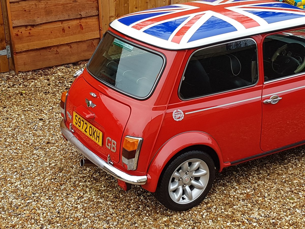 1998 Stunning Mini Cooper Sport On Just 21730 Miles From New For Sale (picture 6 of 22)