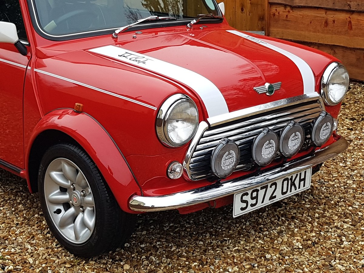 1998 Stunning Mini Cooper Sport On Just 21730 Miles From New For Sale (picture 7 of 22)