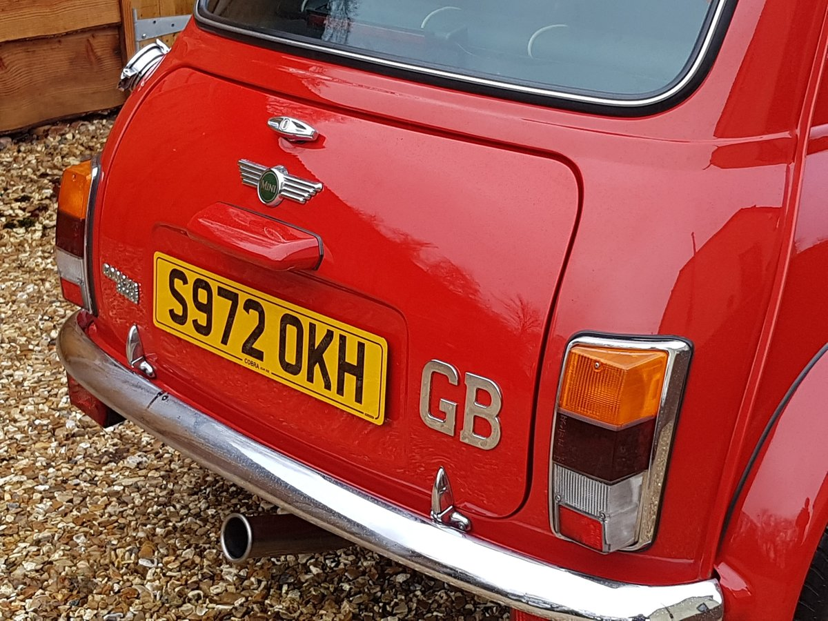 1998 Stunning Mini Cooper Sport On Just 21730 Miles From New For Sale (picture 8 of 22)