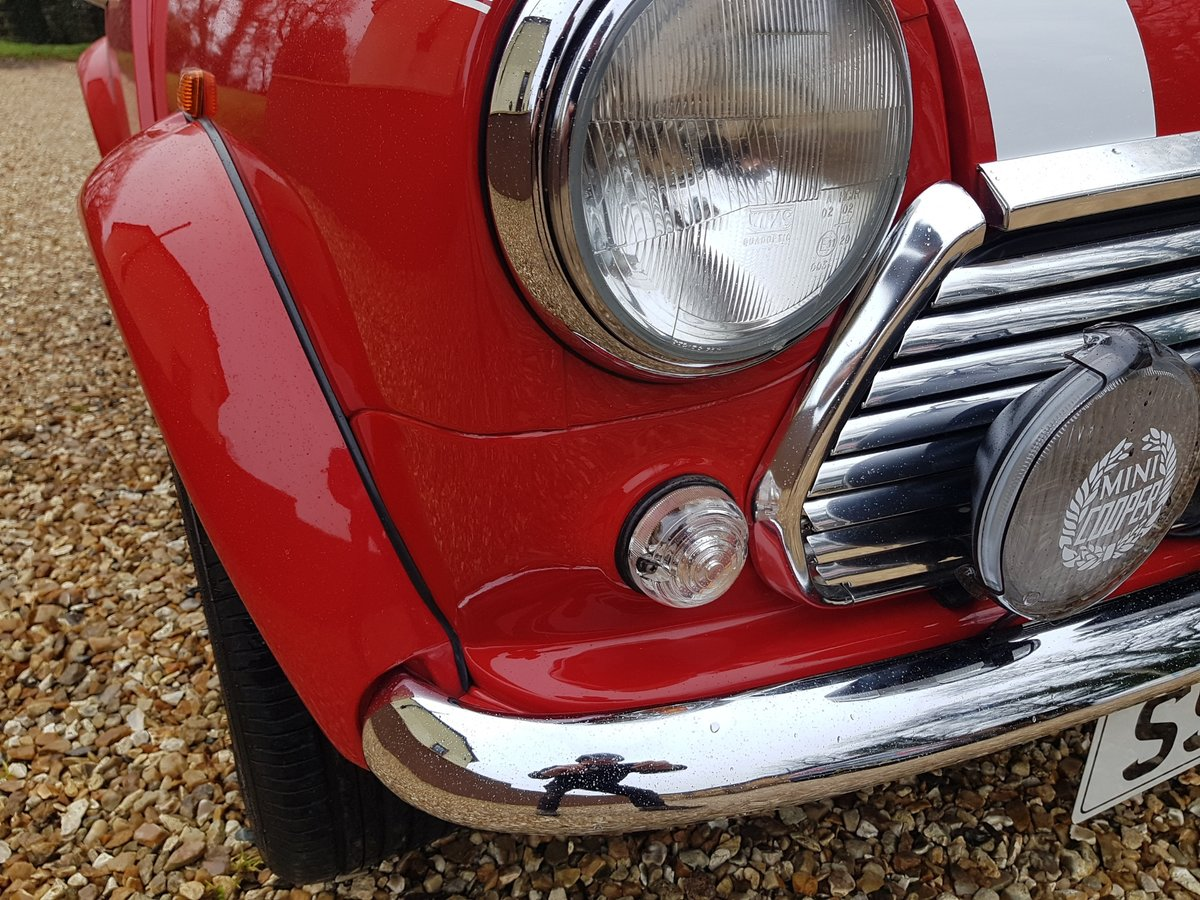 1998 Stunning Mini Cooper Sport On Just 21730 Miles From New For Sale (picture 9 of 22)