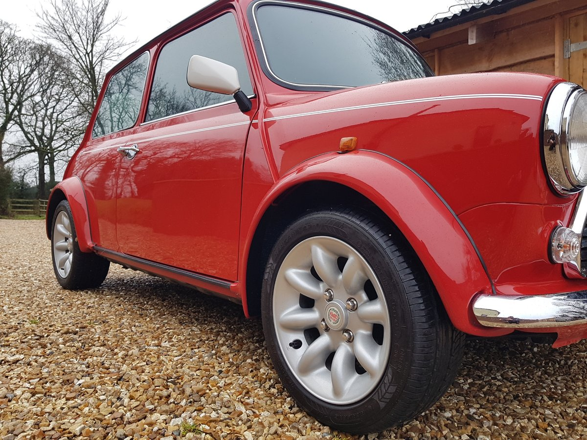 1998 Stunning Mini Cooper Sport On Just 21730 Miles From New For Sale (picture 11 of 22)