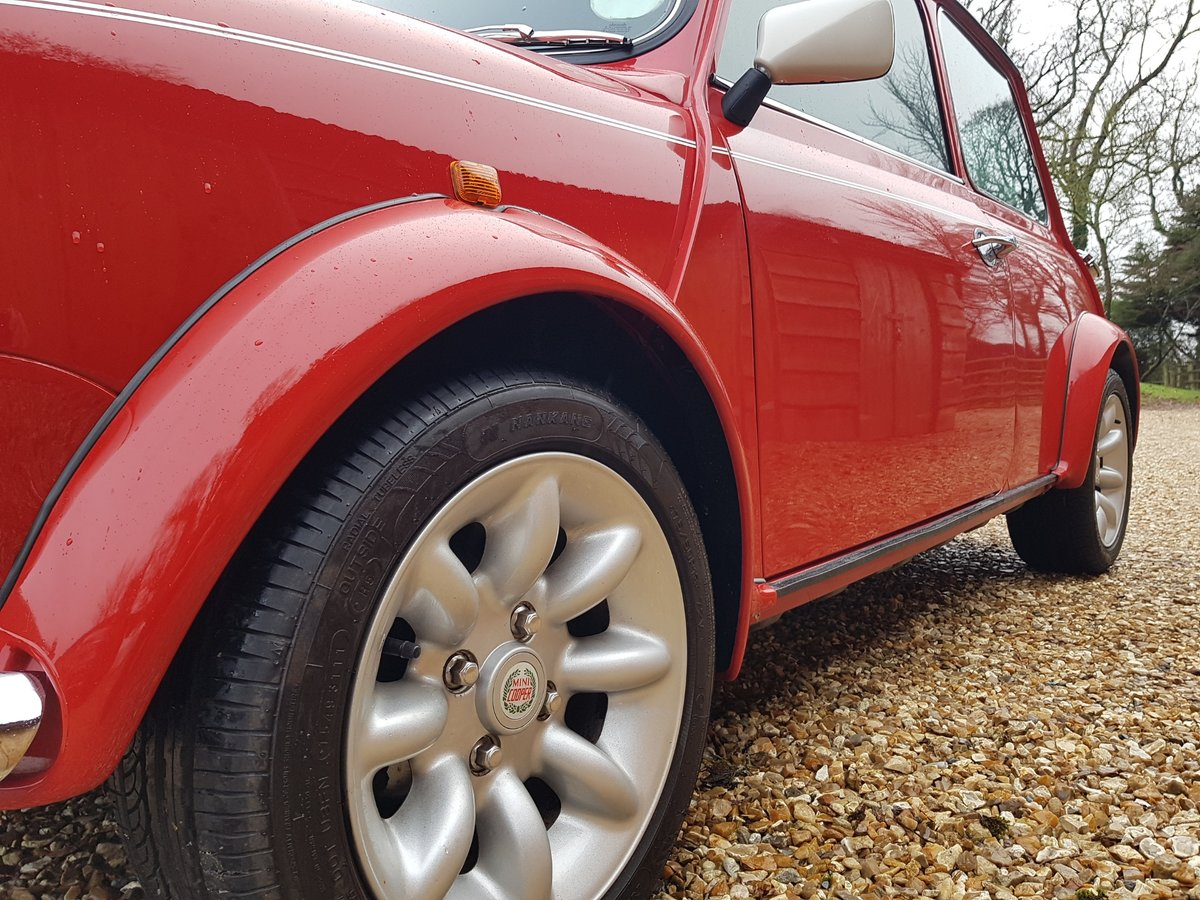 1998 Stunning Mini Cooper Sport On Just 21730 Miles From New For Sale (picture 12 of 22)