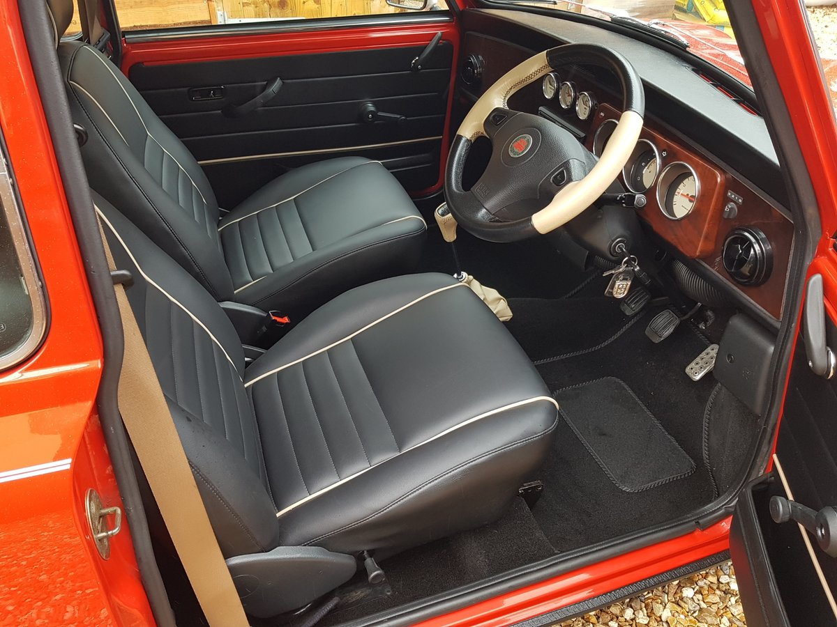 1998 Stunning Mini Cooper Sport On Just 21730 Miles From New For Sale (picture 16 of 22)