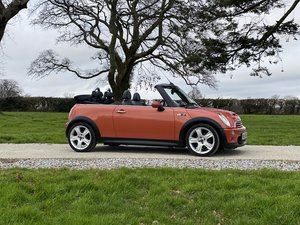 2004 54 MINI COOPER S CONVERTIBLE ONLY 57000 MILES
