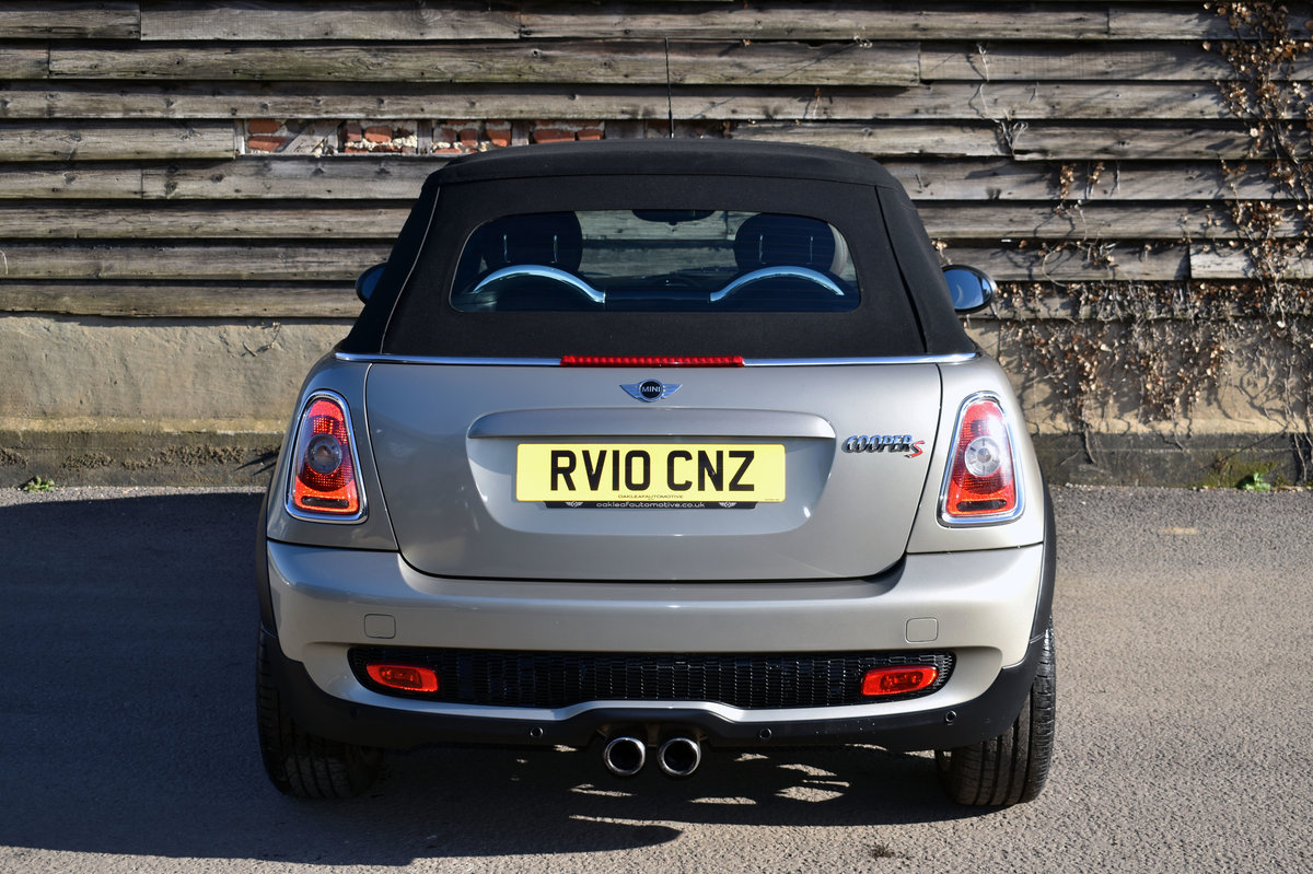 2010 MINI 1.6 Cooper S Chili Convertible Great Spec+RAC Approved For Sale (picture 12 of 12)