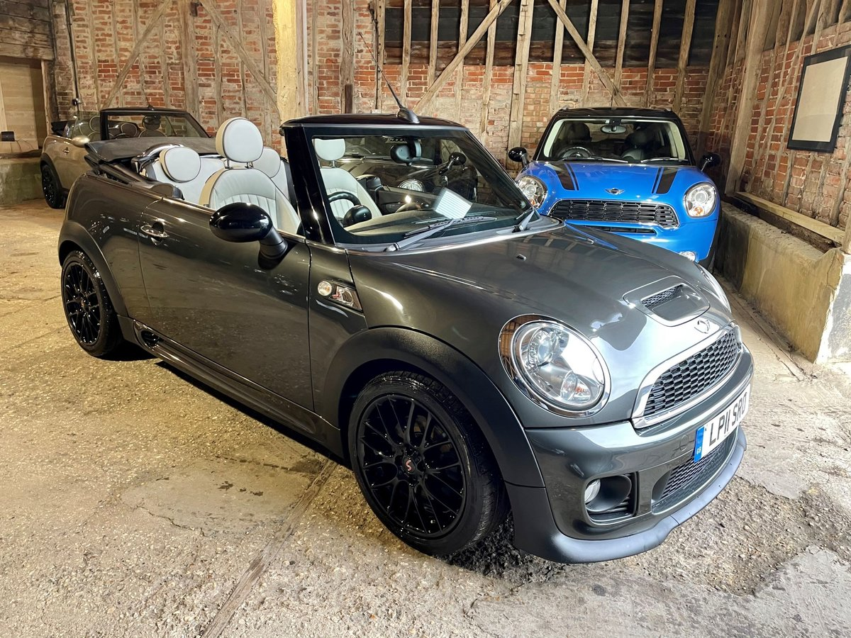 2011 MINI 1.6 Cooper S Chili Convertible + RAC Approved For Sale (picture 1 of 1)