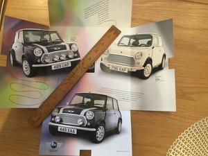 Picture of 1999 Mini Cooper brochure For Sale