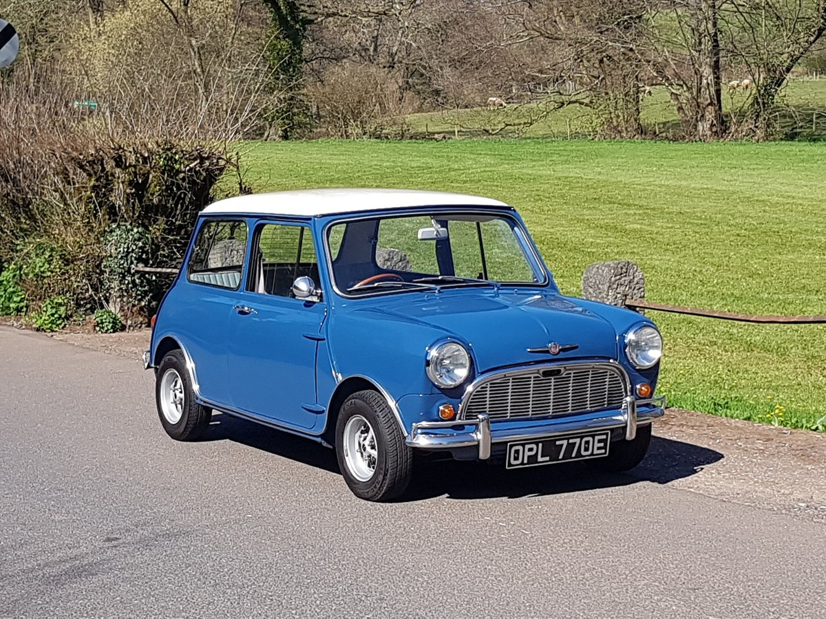 1967 Morris Mini Super Deluxe in Lovely Condition. For Sale (picture 1 of 25)