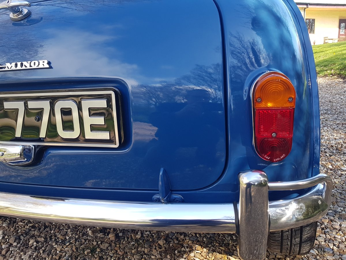 1967 Morris Mini Super Deluxe in Lovely Condition. For Sale (picture 11 of 25)