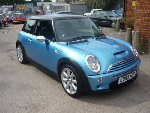 2003 Mini Cooper S For Sale Car And Classic