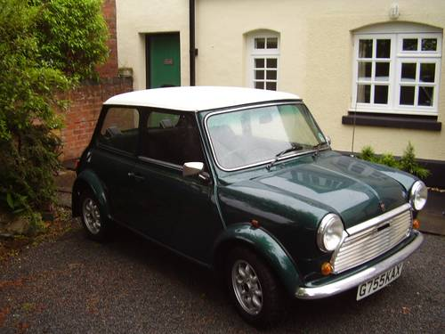 1990 Rover Mini Racing Green 998cc Sold Car And Classic