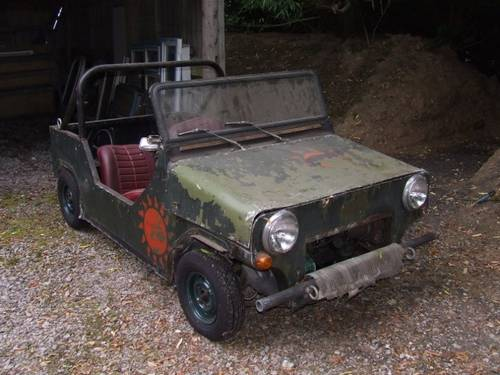 1960 Mini Moke prototype, early 60s SOLD (picture 1 of 4)