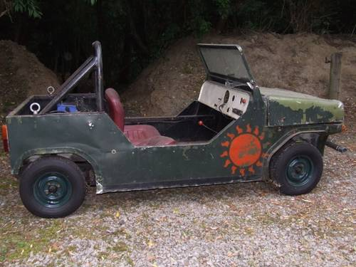 1960 Mini Moke prototype, early 60s SOLD (picture 2 of 4)