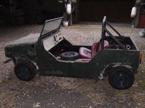 1960 Mini Moke prototype, early 60s SOLD (picture 3 of 4)