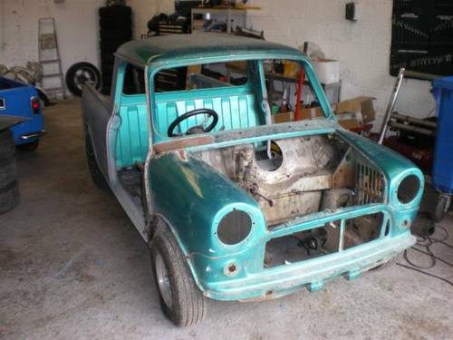 1976 Mini Pickup Unfinished Project SOLD | Car And Classic