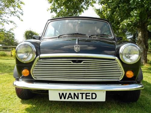 1989 Austin Rover Mini Van Pickup Cooper Mayfair Wanted