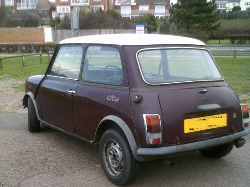 Austin Mini City CLASSIC AUTOMATIC  1987 CAR For Sale (picture 1 of 4)