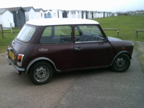 Austin Mini City CLASSIC AUTOMATIC  1987 CAR For Sale (picture 2 of 4)