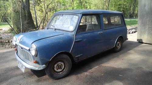 1968 Mini Traveller Mk2 For Restoration SOLD (picture 1 of 6)