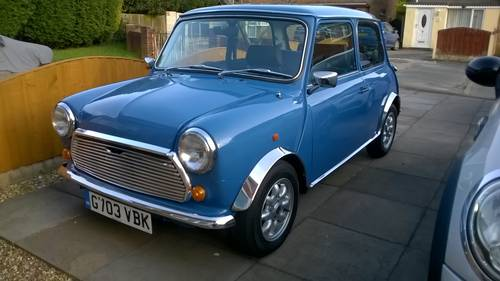 1989 Classic Mini Mayfair Sold Car And Classic