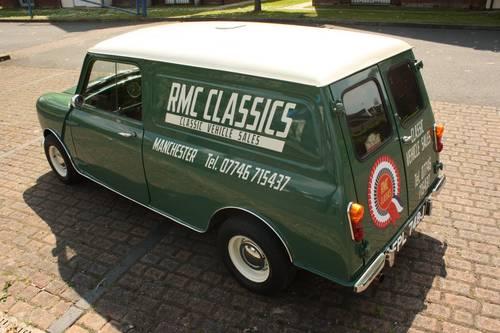 1970 Morris Mini Van 1275 Restored Cooper Style Sold Car And