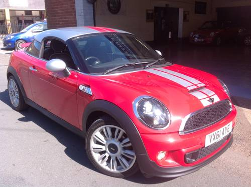 2011 Mini Coupe 20 Cooper S Diesel Sold Car And Classic