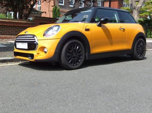 2015 Mini Cooper Sport ultra low mls 9,860 For Sale (picture 1 of 3)