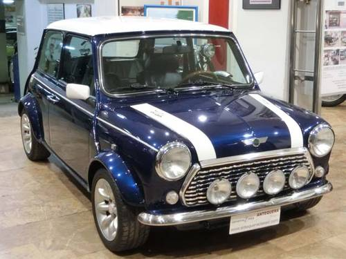 ROVER MINI 1300 COOPER BLUE STAR - 1996 (LIMITED EDITION) For Sale (picture 1 of 6)