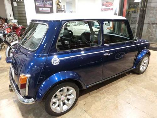 ROVER MINI 1300 COOPER BLUE STAR - 1996 (LIMITED EDITION) For Sale (picture 2 of 6)
