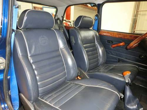 ROVER MINI 1300 COOPER BLUE STAR - 1996 (LIMITED EDITION) For Sale (picture 4 of 6)