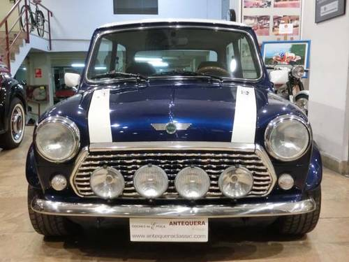 ROVER MINI 1300 COOPER BLUE STAR - 1996 (LIMITED EDITION) For Sale (picture 6 of 6)