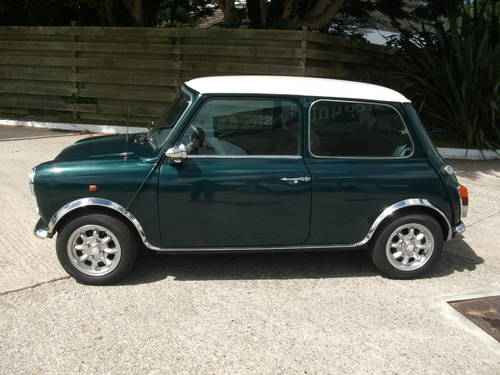 1988 Austin Mini , BRG, Alloys, tuned engine SOLD (picture 2 of 6)