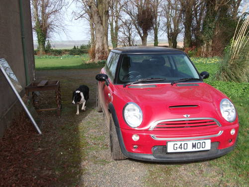 mini cooper s 2004 with reg g40moo included For Sale (picture 1 of 2)