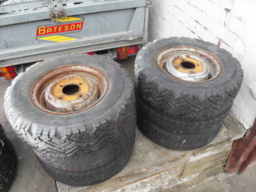 Mini classic steel wheels For Sale (picture 1 of 5)
