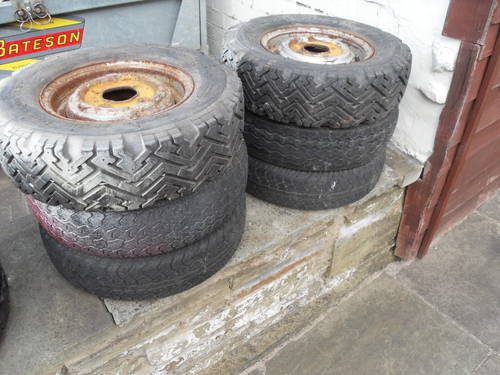 Mini classic steel wheels For Sale (picture 2 of 5)